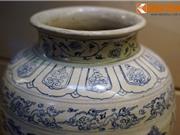 Chiêm ngưỡng chiếc bình gốm cổ quý giá nhất Việt Nam