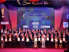 73 sản phẩm và dịch vụ dành danh hiệu Sao Khuê 2016