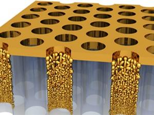 Vàng có thể biến nước thành hơi mà không cần đun sôi