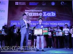 Trao giải đại sứ truyền thông khoa học FameLab Việt Nam 2016