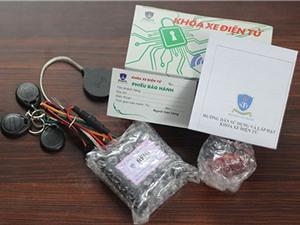 Hạn chế trộm cướp xe máy nhờ hệ thống báo động thông minh