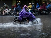 Bắc Bộ mưa rào diện rộng, Bắc Trung Bộ kết thúc nắng nóng