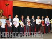 Bộ Khoa học và Công nghệ trao quyết định bổ nhiệm 8 lãnh đạo các đơn vị