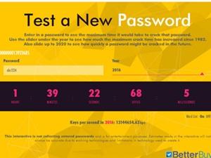 Cách kiểm tra độ an toàn của mật khẩu bạn đang dùng