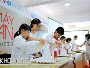 Chùm ảnh Ngày hội STEM 2016: Nhóm lửa tình yêu khoa học
