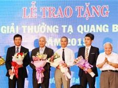 3 nhà khoa học đoạt giải Tạ Quảng Bửu 2016