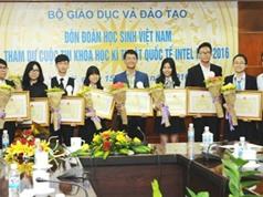 Nhiều học sinh Việt Nam đoạt giải quốc tế về nghiên cứu khoa học