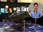 """""""Phi thuyền"""" đầu tiên của Việt Nam bay vào không gian"""