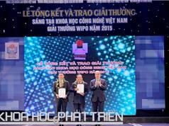 Chùm ảnh lễ trao giải thưởng Sáng tạo Khoa học Công nghệ Việt Nam