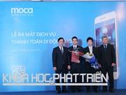 Ra mắt dịch vụ thanh toán di động MOCA