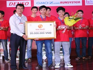 Thiết bị công nghệ cứu nạn ngư dân giành giải nhất cuộc thi Monokon 2016