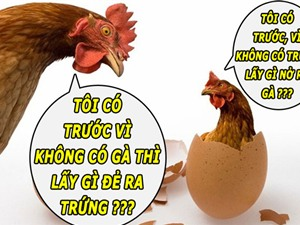 Đã có lời giải cho bài toán gà hay trứng gà có trước