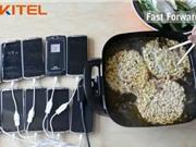 Clip: Sốc với màn nấu mì gói bằng điện thoại