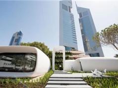 Tòa nhà in 3D đầu tiên trên thế giới ở Dubai