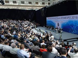 Hơn 5.000 người tham dự Diễn đàn quốc tế về năng lượng hạt nhân ATOMEXPO 2016
