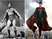 So sánh hình tượng của các Siêu anh hùng xưa và nay