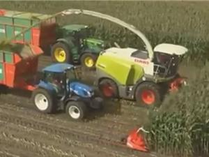 Clip: Những cỗ máy nông nghiệp lớn nhất quả đất