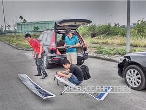 Máy bay chạy bằng pin mặt trời của sinh viên Việt