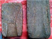 Phát hiện hai khuôn đúc đồng cổ bằng đá có niên đại hơn 2.000 năm