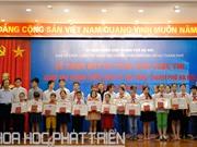 Học sinh Hà Nội làm mô hình nhà thông minh