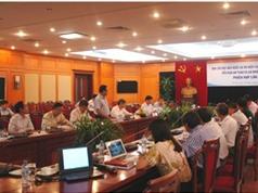 Bàn công việc triển khai dự án điện hạt nhân  Ninh Thuận