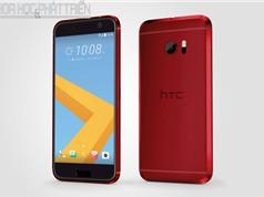 Cận cảnh vẻ đẹp tuyệt mỹ của HTC 10 màu đỏ
