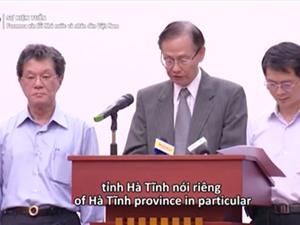 Điều bất ngờ trong lời xin lỗi do gây ra cá chết của Formosa