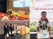 Sinh viên Duy Tân trong Đội Vô địch CDIO Academy 2016 ở Phần Lan