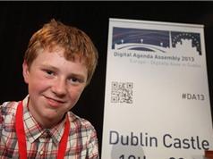 Cậu bé 14 tuổi sở hữu hai công ty lập trình