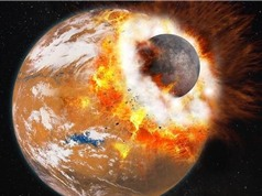 Thảm họa trên sao Hỏa từng sinh ra mặt trăng