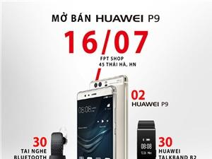 Siêu phẩm Huawei P9 chính thức mở bán tại Việt Nam ngày 16/7