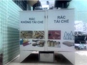 """Sinh viên Đà Nẵng chế thùng rác biết nhận diện người; sắp có """"tem"""" phát hiện ung thư giá 20.000 đồng"""