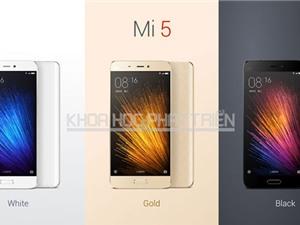 Xiaomi Mi 5 được bán chính hãng ở Việt Nam với giá sốc