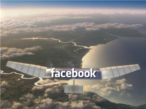 Facebook thử nghiệm máy bay phát internet miễn phí