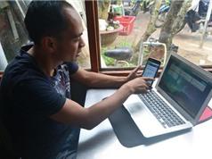 Trồng rau sạch bằng điện thoại;Hà Nội lắp đặt wi-fi miễn phí trên các tuyến xe buýt