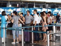 Hệ thống thông tin điện tử tại các sân bay đã trở lại bình thường