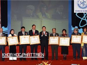 Giải thưởng Hồ Chí Minh, Giải thưởng Nhà nước về KH&CN: Danh giá, đáng tự hào  đối với các nhà khoa học