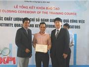 TP.HCM trao giấy chứng nhận đổi mới sáng tạo cho khóa học đầu tiên