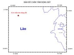 Động đất gây rung lắc mạnh ở Điện Biên