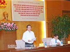 Phó Chủ tịch Quốc hội Phùng Quốc Hiển: Kiến nghị phê bình 12 tỉnh chưa có  báo cáo