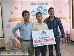 Cuộc thi IoT Startup 2016 trao giải Nhất cho hệ thống đèn đường thông minh