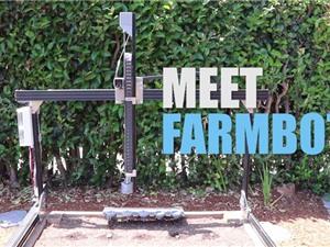 Clip: Robot tự động trồng và chăm sóc rau sạch