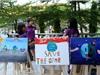 Hơn 700 học sinh Olympia tham gia vẽ tranh chống biến đổi khí hậu