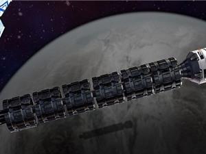 Đi từ Trái Đất lên Mặt Trăng trong hai phút với tàu hỏa vũ trụ