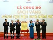 Công bố sách vàng Sáng tạo Việt Nam 2016: Sáng tạo để cải thiện  bất hợp lý trong sản xuất