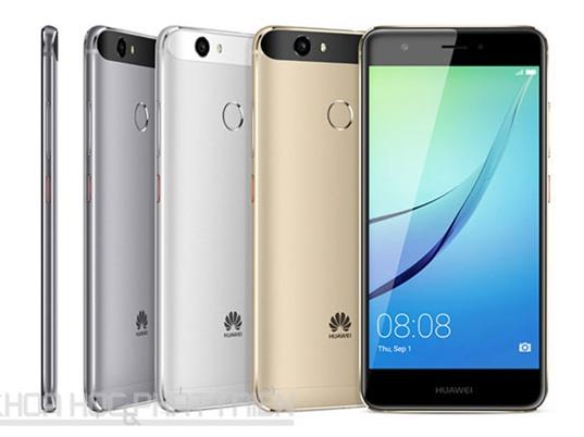 Huawei tung bộ đôi smartphone cạnh tranh với Asus ZenFone 3