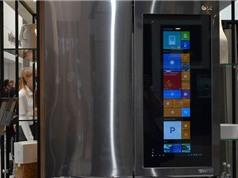 Clip: Tủ lạnh chạy hệ điều hành Windows 10 của LG