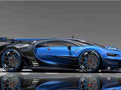 Clip: Siêu xe Bugatti có khả năng tự biến đổi màu sắc