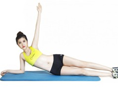 8 phút tập luyện mỗi ngày cho eo thon bụng phẳng