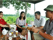 Tiên phong áp dụng chanh đào trái vụ ở Quảng Ninh